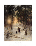 Gathering Winter Fuel Prints by Joseph Farquharson