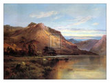 Lakeside Rendezvous the Kirk at Arrochar Art by Alfred Fontville de Breanski