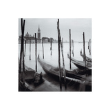 Venetian Gondolas II Prints by Bill Philip