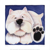 Westie Prints by Kate Mawdsley