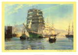 The Thermopylae Leaving Foochow Prints by Montague Dawson