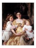 L'amour d'une mère Poster par Thomas B. Kennington