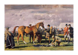 The Red Prince Mare Posters by Alfred James Munnings