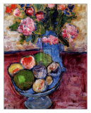 The Blue Vase Posters by Alexej Von Jawlensky
