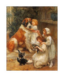 Family Favourites Prints by Arthur John Elsley