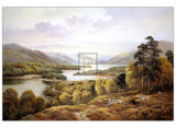 Glen Affric Poster by Wendy Reeves