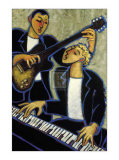 Piano and Guitar Posters by Marsha Hammel
