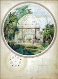 Aviary in a Winter Garden Pôsters por Adrien Chancel