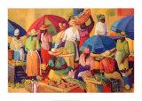 Jour de marché Art par V. Comissong