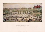 Peel Park, Salford Kunstdrucke von Laurence Stephen Lowry
