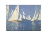 Yacht Racing on the Solent Posters by Philip Wilson Steer