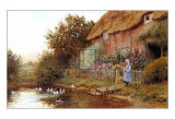 Rustic Retreat Art by Arthur Claude Strachan
