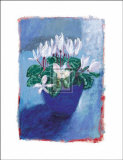Cyclamen Posters by Esther Wragg