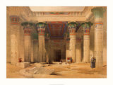 Temple of Philae Poster by David Roberts