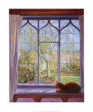 Fen&#234;tre printani&#232;re Posters par Timothy Easton