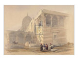 Tomb of the Khalifs Prints by David Roberts