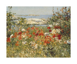Ocean View Planscher av Childe Hassam
