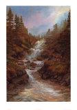 The Waterfall Print by Elizabeth Halstead