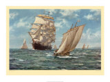 The Homecoming Prints by Montague Dawson