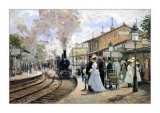 Sentimental Journey Art by Alan Maley