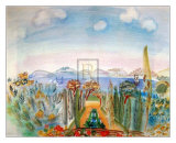 La Baie de Nice Prints by Raoul Dufy