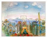 La Baie de Nice Print by Raoul Dufy