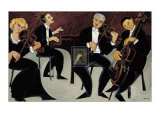 Strings and Piano Prints by Marsha Hammel