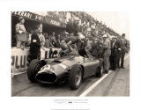 Britischer Grand Prix in Silverstone, 1956 Kunstdrucke von Alan Smith