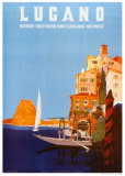 Lugano Posters by Daniele Buzzi