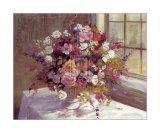 Fleurs d'automne Affiches par Elizabeth Parsons