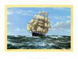 Racing Home, The Cutty Sark Posters by Montague Dawson