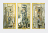 Three Suffolk Towers Prints by John Piper