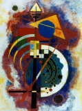 Hommage à Grohmann Affiches par Wassily Kandinsky