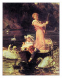 Day on the River Posters by Frederick Morgan