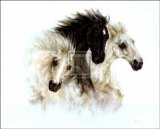 Horses Poster by  Nikki