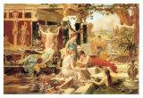 The Roman Bath Poster by Emmanuel Oberhausen