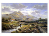 Path to the Hills Prints by Wendy Reeves