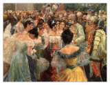 The State Ball Print by Wilhelm Gause