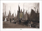 Fishing Port, Lowestoft Posters
