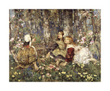 Music of the Woods Prints by Edward Atkinson Hornel