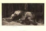 Chien-loup irlandais Poster par Herbert Thomas Dicksee