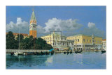 The Grand Canal, Venice Print by L. Sollazzi