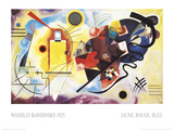 Jaune, Rouge, Bleu, 1925 Prints by Wassily Kandinsky