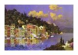 Luce del sole su Portofino Arte di L. Sollazzi