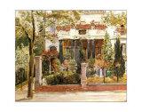 Steinbartschen Villa, Berlin Poster by Max Slevogt