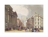 The Mansion House, Cheapside Posters by Thomas Shotter Boys