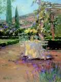 Tuscan Garden I Print by Allayn Stevens