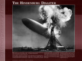 History Through A Lens - Hindenburg Disaster Art