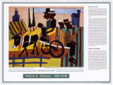 African American Artists - William H. Johnson - Going to Church Posters by William H. Johnson
