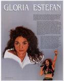 Hispanic Heritage - Gloria Estefan Print